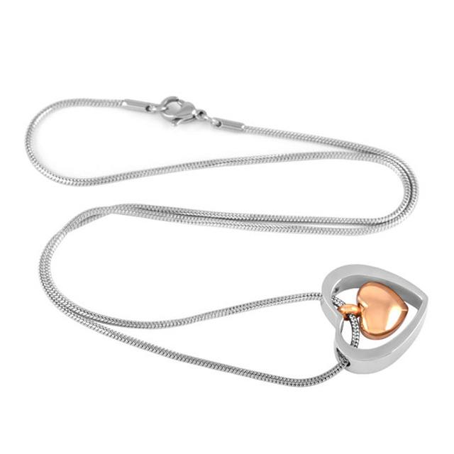 Inner Heart Urn Necklace