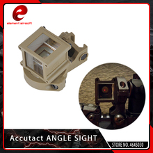 купить Element Airsoft Accutact Angle Sight with 20mm Mount Rifle Scope Mount for Tactical 360 Degree Rotate for Red Dot Aiming Device по цене 1828.23 рублей