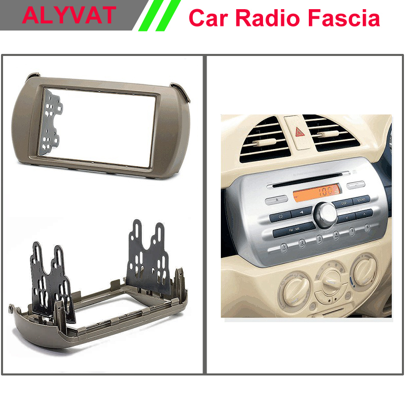 Car DVD CD stereo dash kit radio CD player install mount for MAZDA Carol SUZUKI Alto (HA25) Facia Dash CD Trim Install Kit