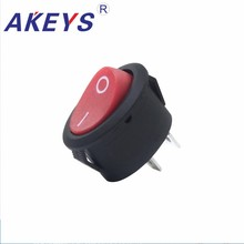10PCS KCD1-311-3P 125V 2 Pins On-Off Rocker Switch Momentary Rocker Switch with Red button 10pcs g15n60rufd g15n60ruf g15n60 to 3p