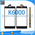 Touch For Oukitel K6000 Touch Screen with Digitizer Panel with 3M Sticker