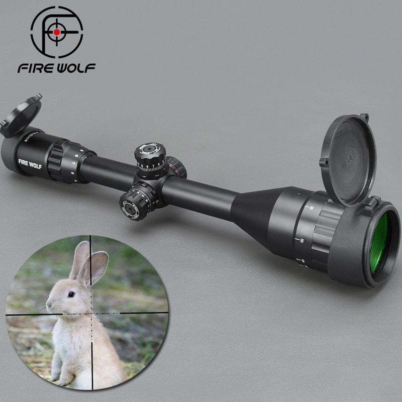 цены на 3-9x50 AOE Silver Riflescopes Rifle Scope Hunting Scope w/ Mounts