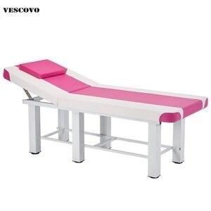 Image 1 - Profesyonel Spa Masaj Masaları Katlanabilir Salonu Mobilya PU katlanır yatak Çok Fonksiyonlu Kalın güzellik yatağı