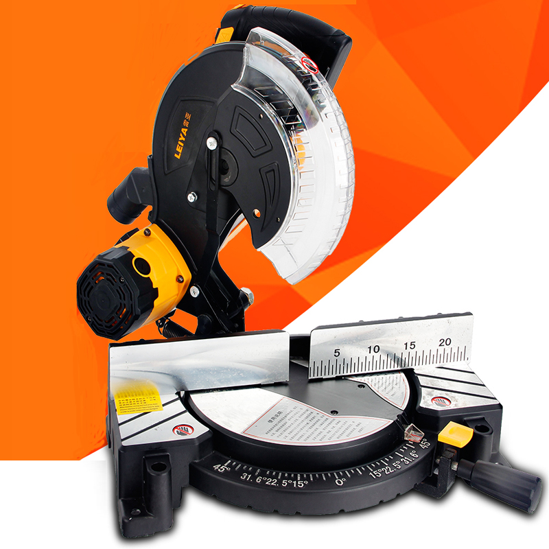 Saw Aluminum Machine High Precision Multi-function Belt Saw Aluminum Machine 10 Inch Woodworking Plastic Cutter LY255-01
