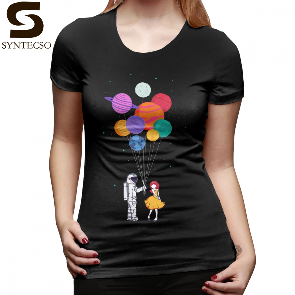 Galaxy T-Shirt For You Everything T Shirt Casual Graphic Women tshirt Funny Cotton XXL Short Sleeve Black Ladies Tee Shirt