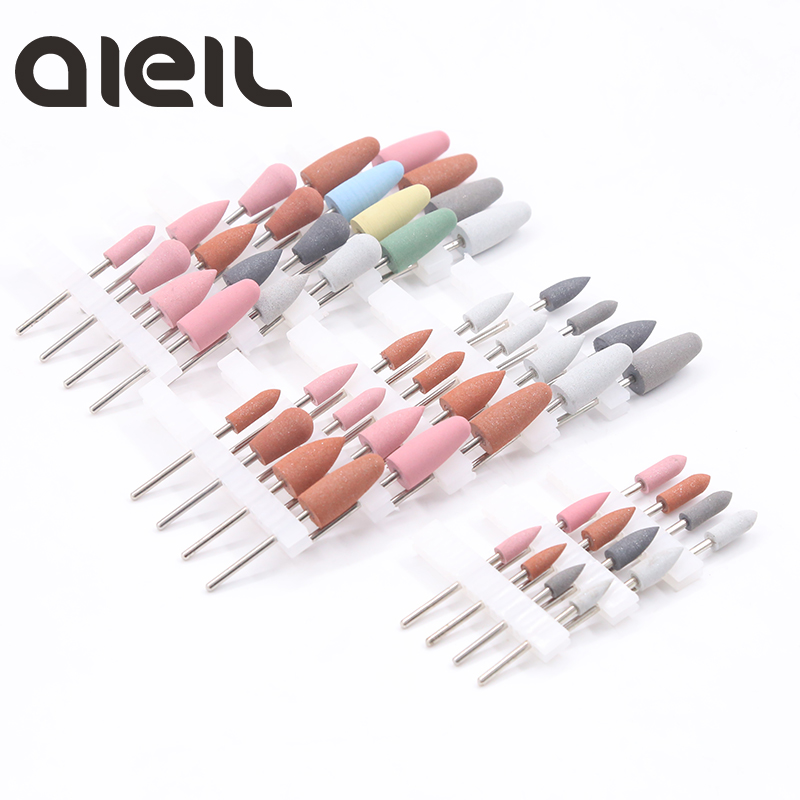 4PCS Nail Drill Bits Set Silicon Cutter For Manicure Set Pedicure Manicure Set Cutter For Pedicure Gel Nail Polish Set For Nail