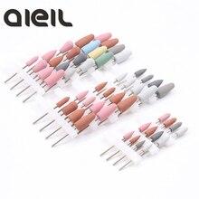 Kit de forets à ongles en silicone, avec vernis à ongles, pour manucure et pédicure, 4 pièces