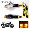 12 В мини светодиодный сигнал поворота мотоцикла E mark  15 светодиодов  индиаторы  лампы  мигающие мигалки  карбоновое волокно  корпус  яркий