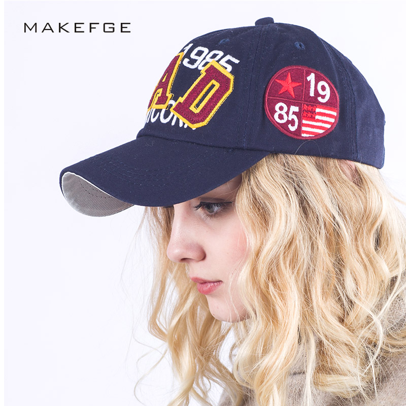 unisex casual baseball caps for men fashion 100%cotton letter BAD cap summer hip hop snapback women brand hat bone Hat wholesale