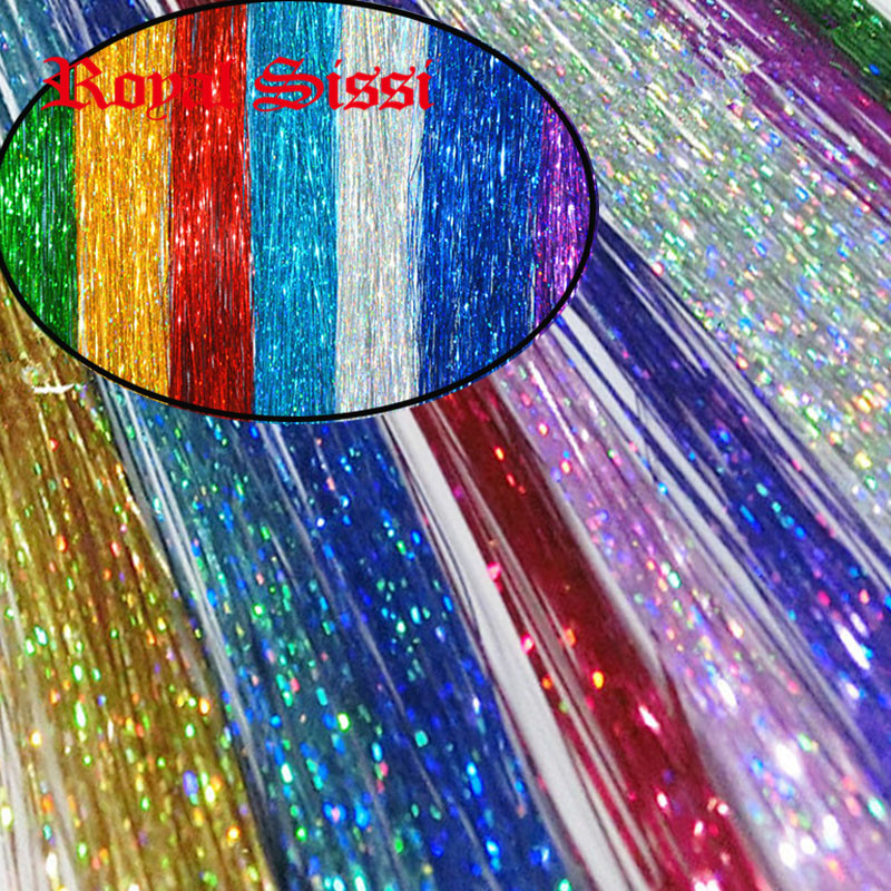 10Packs mix colors Flashabou Tinsel colorful Flat Glittering Crystal Flash Tinsel Fly Fishing lure herl baits Fly Tying material 5sheets pack 10cm x 5cm holographic adhesive film fly tying laser rainbow materials sticker film flash tape for fly lure fishing