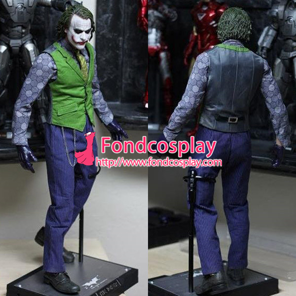 Batman clown beyond return of the joker heath ledger suit outfit batman clown beyond return of the joker heath ledger suit outfit movie cosplay costme custom made in boys costumes from novelty special use on solutioingenieria Gallery