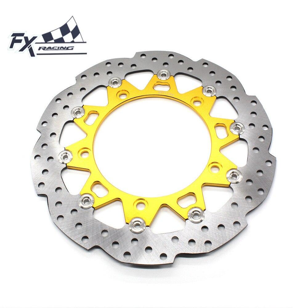 FX Aluminum Stainless Steel Motorcycle 300mm Floating Front Brake Disc Rotor For Honda CB190R CB 190R