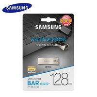 2019 Горячая продажа SAMSUNG USB флэш-накопитель 32G 64G металлический накопитель USB 3,1 Флешка 128G 256G карта памяти для компьютера