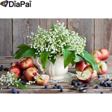 DIAPAI 100% Full Square/Round Drill 5D DIY Diamond Painting Flower landscape  Diamond Embroidery Cross Stitch 3D Decor A18964 diapai diamond painting 5d diy 100% full square round drill flower landscape diamond embroidery cross stitch 3d decor a24368