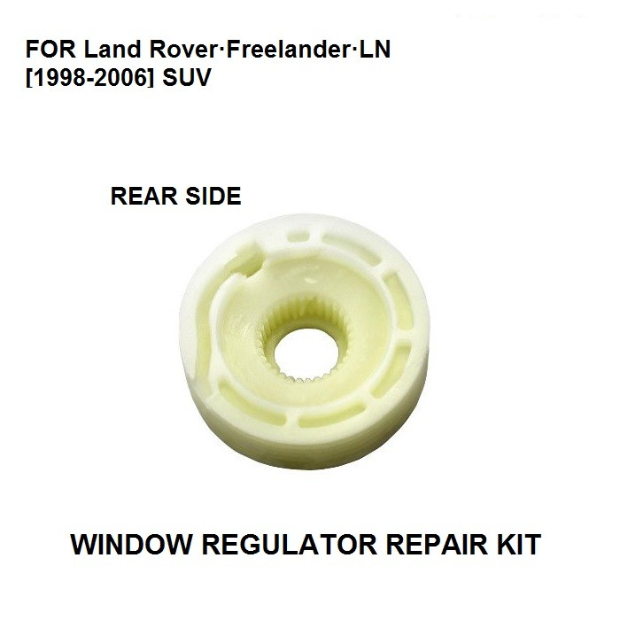 CAR WINDOW REGULATOR ROLLER FOR FOR LAND ROVER FREELANDER TAILGATE 1998-2006 REAR RIGHT&LEFT SIDE