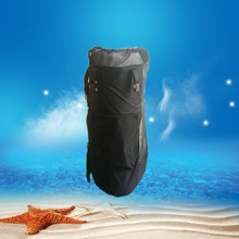 Good quality balck surfboard bag with mesh/light bag for sup paddle board