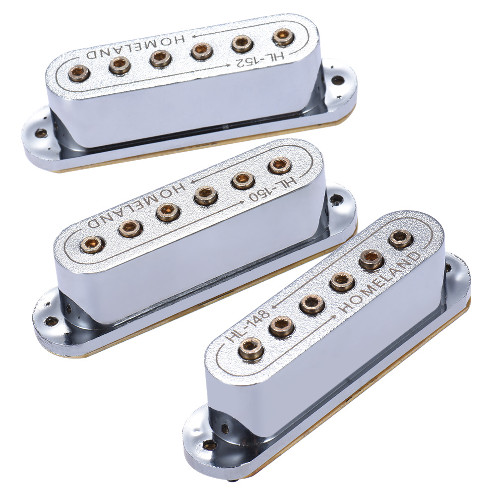 High Quality 3pcs Guitar Pickup 48 50 52mm Passive Magnetic Dual Coil Sound Hole Pickup for