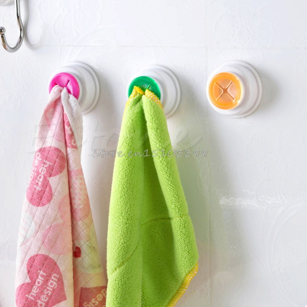 Self-Adhesive Back Pad Rubber Cloth Tea Towel Holder Push In For Kitchen Bath G08 Whosale&DropShip