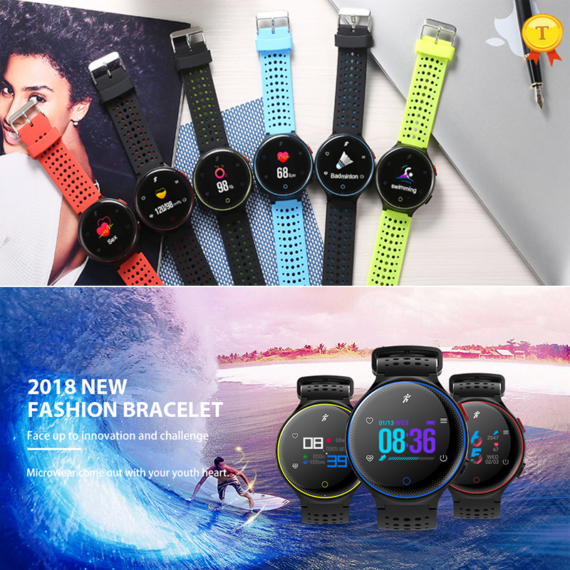 Top Watch New Arrival Smartwatch Heart Rate Tracker IP68 Waterproof Ultra long Standby Wrisband Smartband For IOS Android Phone|Smart Watches|   - title=