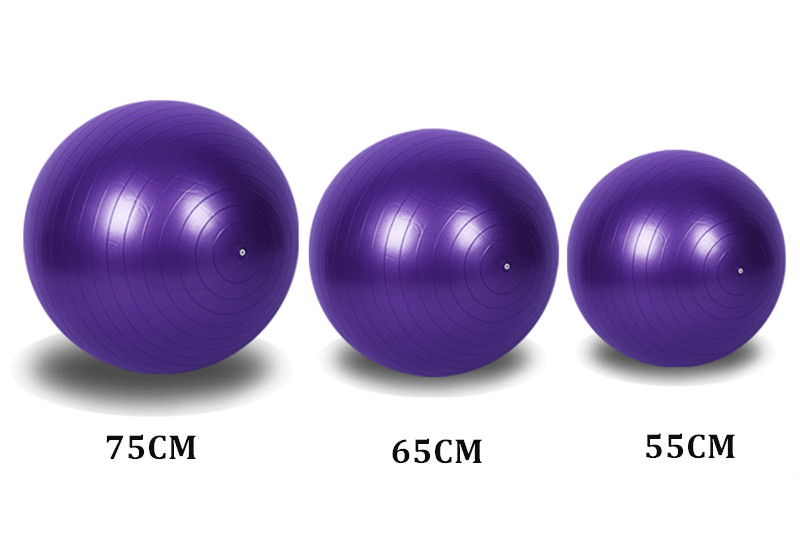 Anti-slip Exercise Balls with Pump Suitable for Yoga/Gym/Workout/Pilates 9