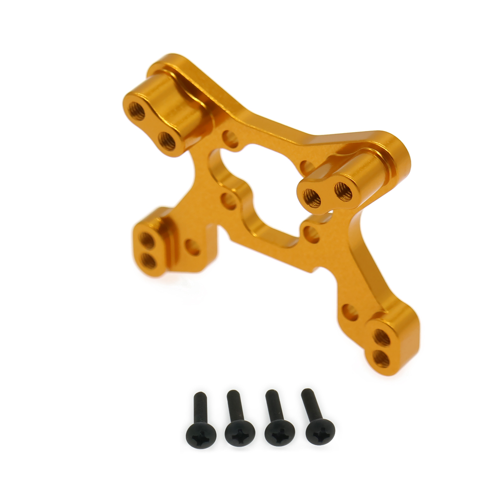 1Pc Alloy Aluminum Front Shock Tower For Rc Hobby Model Car 1/14 Lc Racing Full Series Shock Plate BE6074 Off-Road Buggy Parts lc 1 pc 1838
