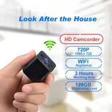 Yescool HYV-E330 Mini HD Wi-fi Câmera de Vídeo Inteligente Infravermelho Night Vision Movimento monitor de Câmera Sem Fio em casa Controle Remoto APP 720 P