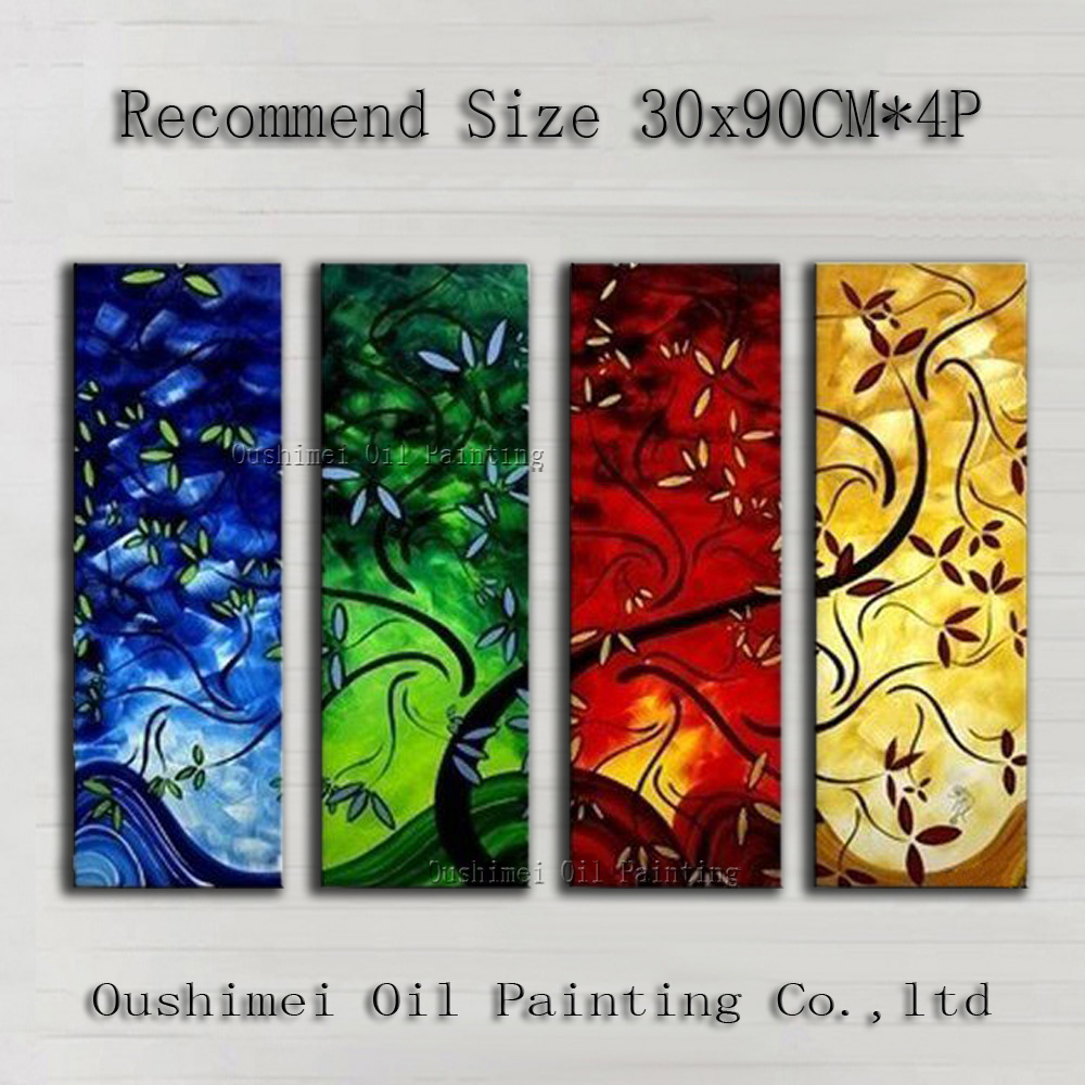 Best Hotel Decoration Artist Hand-painted Beautiful Abstract Trees Oil Painting On Canvas Handmade Modern Landscape Oil PaintingBest Hotel Decoration Artist Hand-painted Beautiful Abstract Trees Oil Painting On Canvas Handmade Modern Landscape Oil Painting