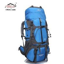 Locallion Outdoor Rugzak 65L Outdoor Waterbestendig Sport Rugzak Wandelen Tas Camping Travel Pack Klimmen Rugzakken Hike