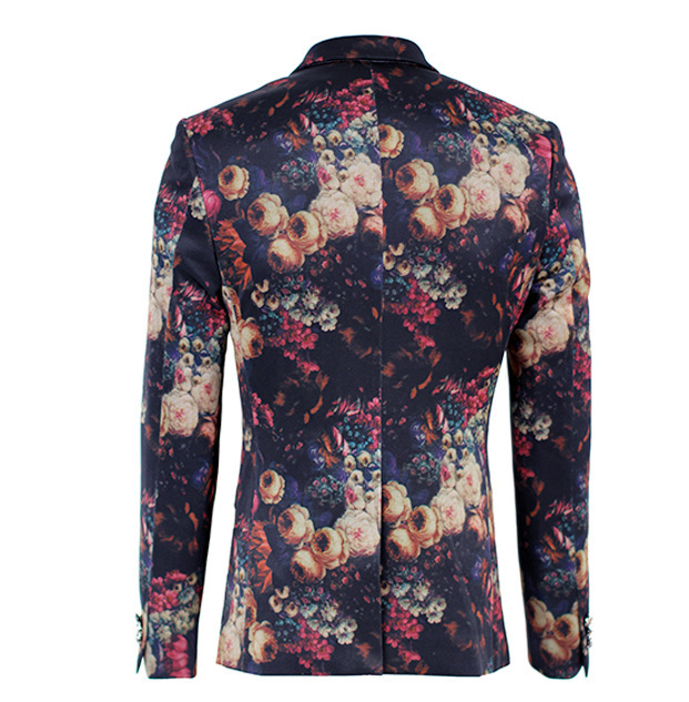 Aliexpress.com : Buy Men Blazer 2015 Brand Designer Digital Print ...
