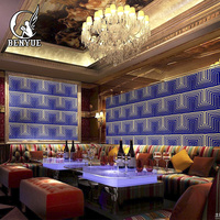 3D wallpapers luxury bar wallpaper non woven glitter wall paper Christmas xmas sparkle decorations living Room wall paper