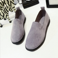 QICIUSNew Driving Loafers Women Flats 2017 Autumn Casual Soft Leather Slip On Lady Moccasins Walking Boat