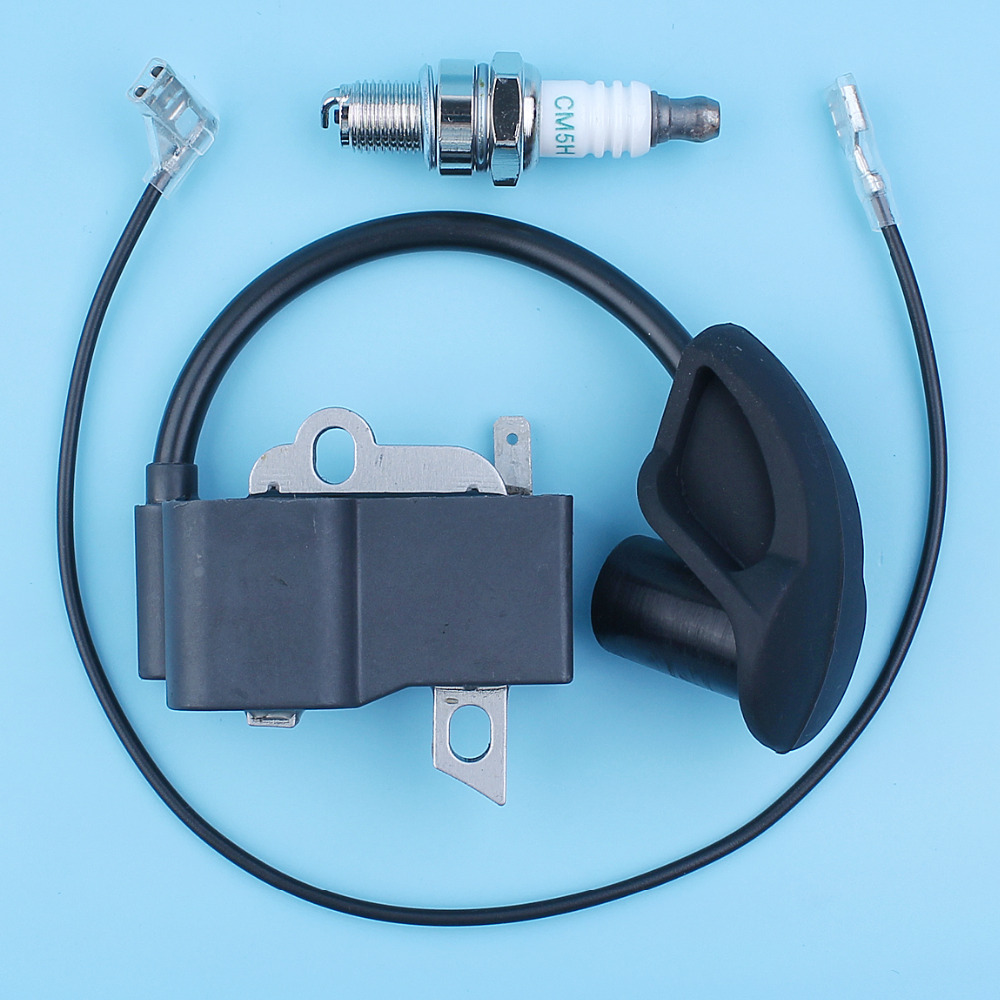 Ignition Coil Module Magneto Spark Plug Kit For Stihl BR500 BR550 BR600 Backpack Leaf Blower 42824001305