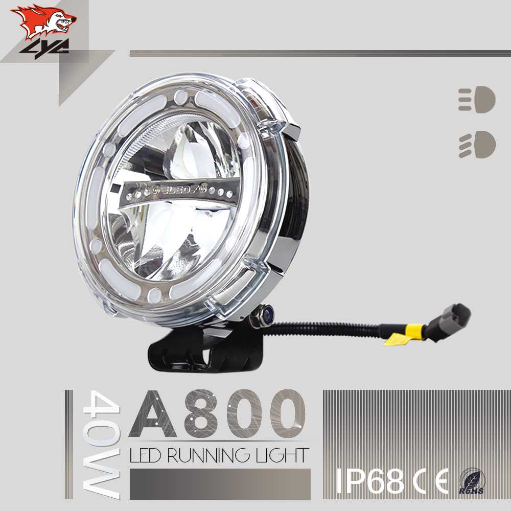LYC IP68 For Toyota Auto Spare Parts 40W 1800LM Led Diving Light 40w Led Light Car  DC 12V 24V 6000K lyc 6000k led daylight for citroen c4 for nissan led headlights 12v car led lights ip 68 chips offroad work light 40w