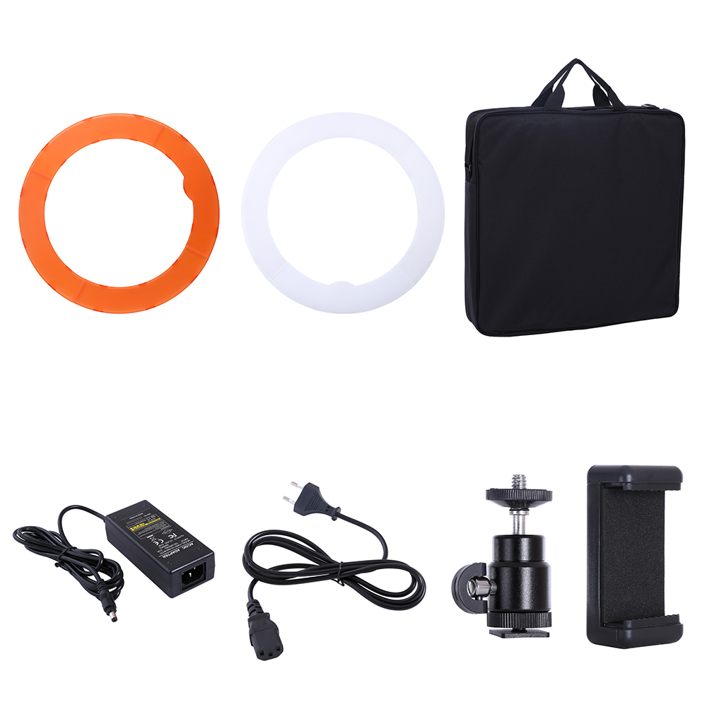 HTB1bQ4YdBUSMeJjy1zjq6A0dXXaA 55W 18inch Camera Phone LED Ring Light Photography studio Dimmable Ring Lamp With Stand Tripods For TikTok Youtube Makeup Video