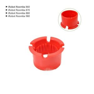 Image 5 - Brosses de roue avant et filtre plat pour iRobot Roomba 500 Series 520 530 540 550 560 570 580 pièces de rechange pour aspirateur