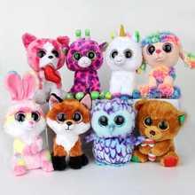 15-20CM TY BEANIE BOOS Cute Alpaca Gabby Козел единорог Плюшевые игрушки Фаршированные куклы животные мягкие игрушки Baby For Christmas Birthday Gift