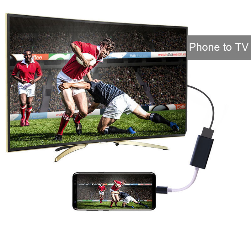 4k Type C to HDMI Video Cable Adapter Converter For MacBook Air Pro for Samsung Galaxy S8 S8+ S9 Plus Note 8 for LG G5 to TV