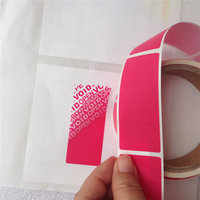 98pcs Roll Free Shipping Temper Evident Packing Tape Security Seals VOID OPEN Stickers Box Carton Seal
