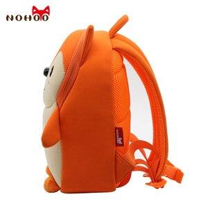 Image 2 - NOHOO Toddler Children School Bag for Boys Kids Waterproof Backpack Kindergarten Girls 3D Cartoon Shape Mochila for 2 7 Years