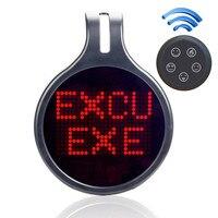 New 12V Car Rear Window Led Logo Programmable Message Expression Light Led Display Board DIY Design