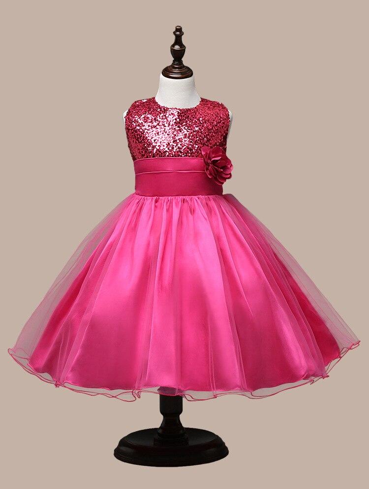 7 color Rojo Negro oro vestido lentejuelas vestidos sin mangas ...