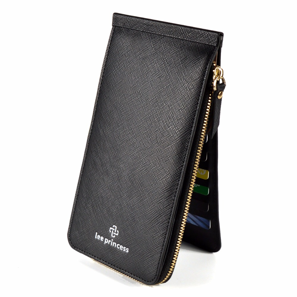 26 Card Holder Phone Bag Coin Female Purse Long Leather Wallet For Women Clutch Handy Wristlet Slim Ladies Wallets Girls Vallet pu leather wallet heels wallet phone package purse female clutches coin purse cards holder bag for women 2415