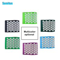 Sumifun Massager Pillow Acupressure Mat Relieve Stress Pain Acupuncture Spike Yoga Pillow For Relieve Stress Pain