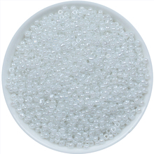 1000pcs White Color Bulk Czech Glass Seed Beads Mixed About 2mm for Jewelry Making Bracelet Necklace