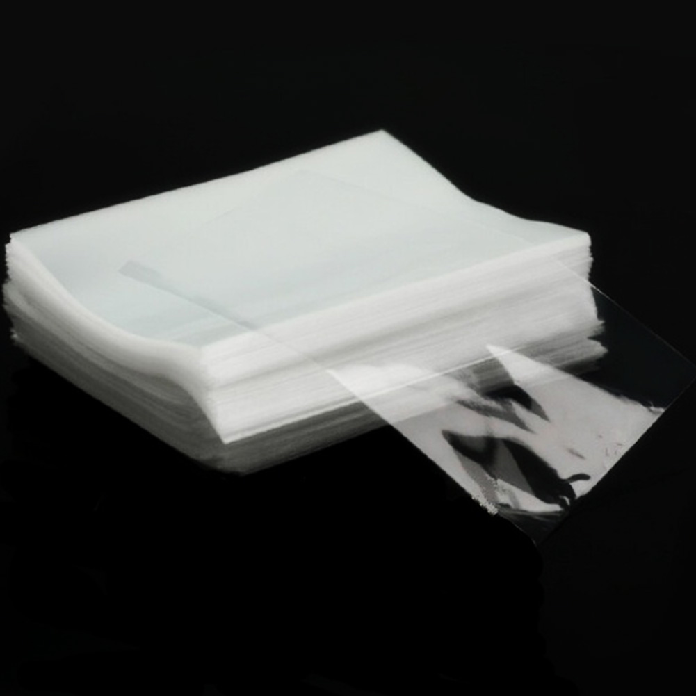 100 Pcs Clear Flat Cello / Cellophane Treat Bags Good For Candies, Bakery, Cookies