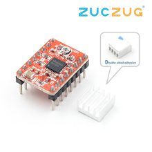 CNC 3D Printer Parts Accessory Reprap pololu A4988 Stepper Motor Driver Module with Heatsink for ramps 1.4(China)