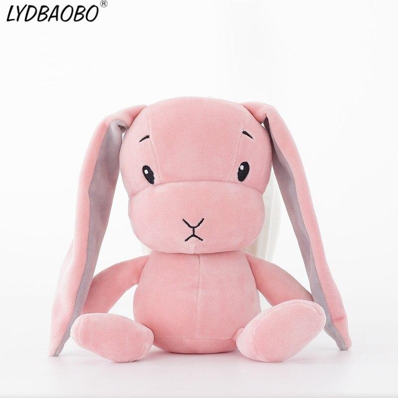 LYDBAOBO 1 pc 25 cm Garoto Lindo Bicho de pelúcia Coelho Coelho Bonito Brinquedo de Pelúcia Boneca de Presente Travesseiro Macio Crianças Kid brinquedo de Presente de aniversário
