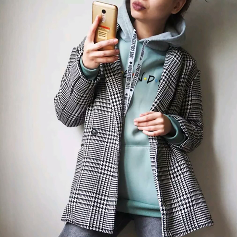 2020 New Friends Printing Hoodies Sweatshirts Harajuku Crew Neck Sweats Women Clothing Feminina Loose Women s