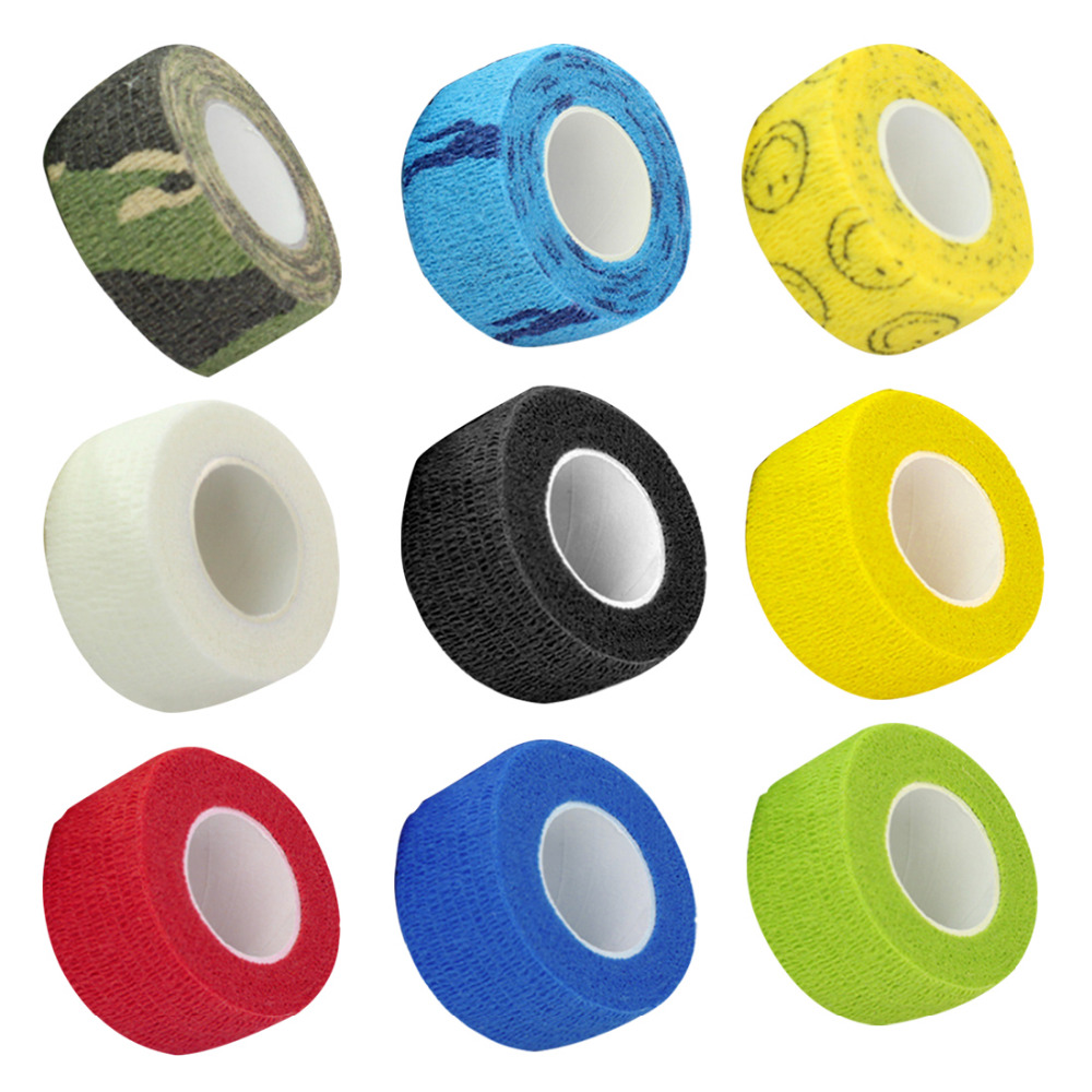 Finger Wrist Protection Medical Tape Disposable Nonwoven Waterproof Self Adhesive Elastic Bandage Tattoo Accesories Grip Wrap