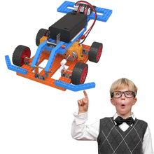 STEM Kids Toy School Science Toy DIY F1 Racing Car  Children Educational Science Toys Kit Learning Education Toys for Children